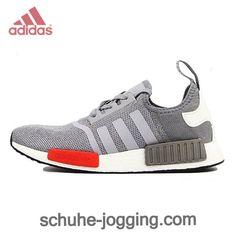Adidas NMD Runner - ★Light Onix Grau Rot Weiß S79160 - (Adidas NMD Runner). http://www.schuhe-jogging.com