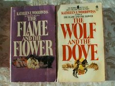 My first romance novels.  Bought in 1974 by my Mom while I was in hospital recovering from an appendectomy. I still have them! -pr