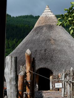 Crannog - Into the Iron Age, Kenmore, Scotland Copyright: Alastair Seagroatt