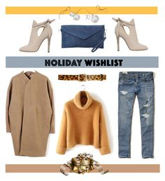 """Holiday Wish List"" by youaresofashion ❤ liked on Polyvore featuring Jimmy Choo, Alice + Olivia, Hollister Co. and Rick Owens"