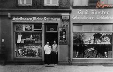 A wine store in Koenigsberg, Germany 1930