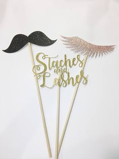 Staches or Lashes Photo Props Gender Reveal Party Baby Shower Gender Reveal Box, Gender Reveal Themes, Gender Reveal Decorations, Baby Gender Reveal Party, Gender Party, Baby Reveal Ideas, Unique Gender Reveal Ideas, Glitter Gender Reveal, Baby Shower Photo Booth