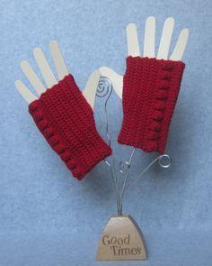 Custom Crochet Fingerless Mittens  Fingerless Gloves by patcreates