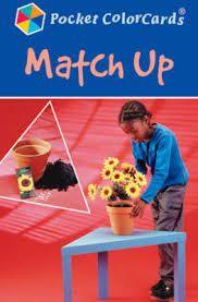 MATCH UP. De beeldkaarten verbeteren de spraakvaardigheid van kinderen. Kinderen zoeken de bijhorende kaarten en benoemen wat ze op de kaarten zien.