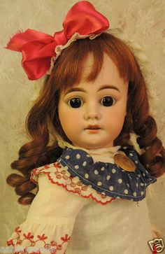 """21"""" Armand Marseille Mold #1894 w French Composition Doll Body!"""