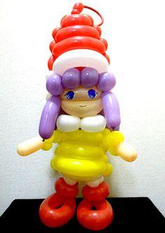 Balloon sculpture of Little Memoru