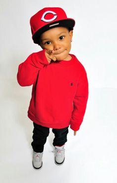 Cute lil boy #swag