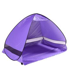 Always Outdoors Pop Up Cabana Beach Tent Sun Shade Shelter -- Click image for more details.