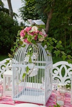 Bird Cage Centerpieces - Wedding Centerpiece Supplies