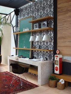 CAMPINAS DECOR Ambiente: Garagem do Loft Projeto: Adriana Bellão e Kátia El Badouy Execução: Espaço Pleno Móveis Planejados®