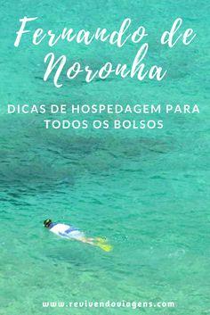 Dicas de pousadas em Fernando de Noronha pra todos os bolsos, das mais simples às mais luxuosas.  #Noronha #FernandodeNoronha #Nordeste #Brasil #Praia