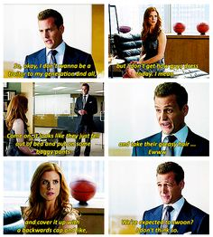 Apparently Harvey Specter knows Clueless. {gif} xD #suits