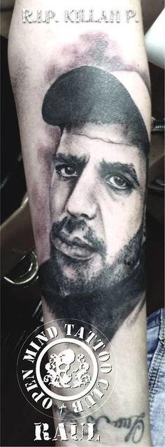 Τατουάζ Fyssas portrait by raul by raul | Tattoo
