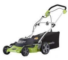 GreenWorks 20 in. Corded Electric Lawn Mower - The GreenWorks 20 in. Corded Electric Lawn Mower is a versatile product that allows you to cut, bag, and mulch grass to keep your lawn. Gas Lawn Mower, Reel Lawn Mower, Lawn And Garden, Garden Tools, Garden Ideas, Walk Behind Lawn Mower, Mowers For Sale, Electric, Lawn Care
