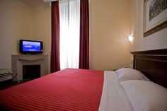 The Deluxe Room with Caminetto