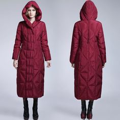 Women's winter long coats – Modern fashion jacket photo blog