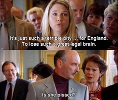 It's such a terrible pity for England ~ Bridget Jones's Diary (2001) ~ Movie Quotes