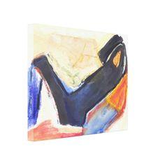 Figura abstracta moderna del expresionista de Zazzle.