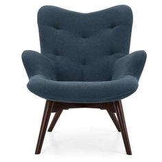 A contemporary classic, the Angel Armchair is available in a choice of five colours and will sit well in a variety of living spaces. The bold curves, unique pin. Furniture Removal, Furniture Logo, Steel Furniture, Retro Furniture, Cheap Furniture, Bedroom Furniture, Furniture Market, Furniture Chairs, Living Room Vanity