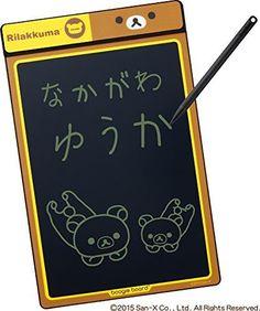 New! Rilakkuma Bear San-X Jim King Electronic Memo Pad Boogie Board Japan F/S