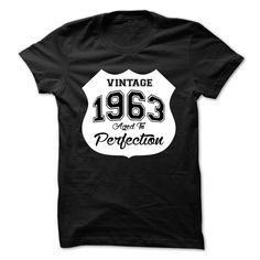 Vintage 1963 Aged to Perfection T-Shirts, Hoodies. Check Price Now ==►…