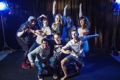 Year 2 student group, BA (Hons) Digital Film & Screen Arts #UCAFarnham #WeCreate