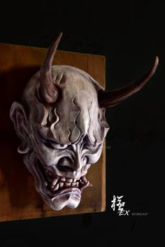 Ninja mask - Best Picture For joker mask For Your Taste You are looking for something, and it is going to tell - Japanese Hannya Mask, Japanese Demon Mask, Hannya Mask Tattoo, Hanya Tattoo, Mascara Oni, Oni Demon, Arte Tribal, Sculptures Céramiques, Japan Tattoo