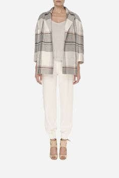 22 Cashmere jacket - 1200zł (300€), Silky pants - 500zł (125€)