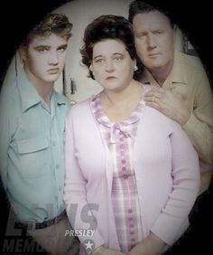 🌟🌟 ELVIS💖PRESLEY 🌟🌟 AND HIS PARENTS, VERNON AND GLADYS PRESLEY 🌟🌟
