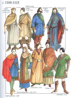 52770d02bd307 Die 111 besten Bilder von Kostümgeschichte Früh- und Hochmittlalter ...