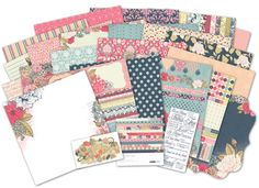 The new Lulu & Roy collection from Kaisercraft for the 2013 Winter CHA Show