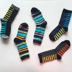 Mix it up this Monday with stylin' stripes and fun colors! A sneak peek to our Fall 2015 styles, coming soon - stay tuned! Exercise For Kids, Mom Blogs, Stay Tuned, Fall 2015, Boy Fashion, Socks, Stripes, Colors, Fun