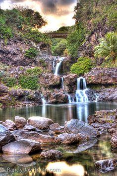 Oheo Twilight, Kipahulu, Maui, Hawaii