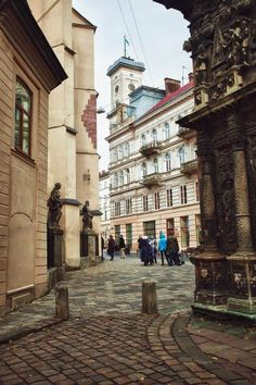 Pin if you love visiting this place as much as we do! <3 Lviv, Ukraine