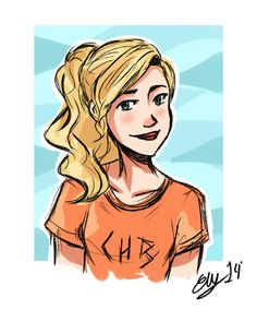 If she is Annabeth she has got bad eyes. But if she is Percabeth's dauther is great. This is a beautiful picture.