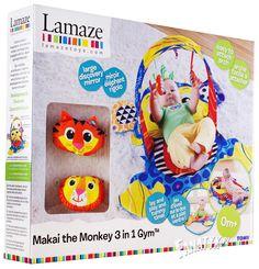 mata edukacyjna, zabawka dla niemowlaka, prezent, lamaze, sensoryczna