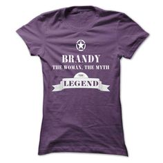 BRANDY, the woman, the myth, the legend - #tee test #kids t shirts. THE BEST  => https://www.sunfrog.com/Names/BRANDY-the-woman-the-myth-the-legend-cmngkvsjev-Ladies.html?id=60505