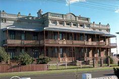 St Joseph Banks Hotel (former) before restoration
