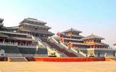 The Epang Palace, Xian, Shaanxi, China