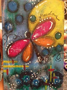 Journal created for the Art of Weight Loss Online Workshop!  http://www.tiaresmith.com  Getting myself ready for a creative 2015. I am gathering my art journals, books and cards for 2015! When January 1st arrives, I want to be ready for all the creative fun and just dive right in to creating.