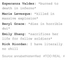 *grabs Sally Jackson and hides her* you can have her back when you are nice! Percy Jackson Memes, Percy Jackson Fandom, Magnus Chase, Percy Jackson's Greek Heroes, Divergent Jokes, Team Leo, Mom Died, Wise Girl, Rick Riordan Books