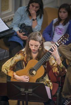Ensamble de Guitarras de Chile - Conciertos de Mediodía. Foto: Patricio Melo