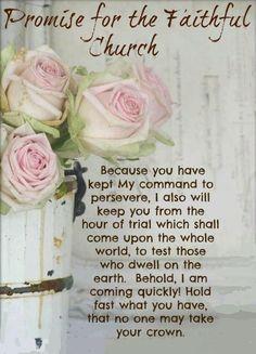 Revelation 3:10-11