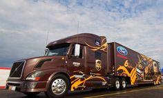 Volvo, Roush Racing, UPS, NASCAR