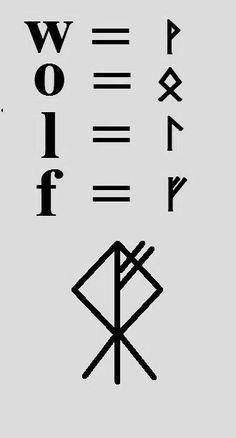 // Viking Aesthetics (☽☾) // Runes // Photo of NAME. // Viking Aesthetics (☽☾) // Runes // Photo of NAME. Bind-Rune Talisman sustainable silver any bindrune: Fenrir Tattoo, Norse Tattoo, Viking Tattoos, Viking Rune Tattoo, Tattoo Celtic, Armor Tattoo, Warrior Tattoos, Rune Symbols, Symbols And Meanings