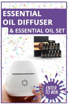 Enter to Win Your Chance At The Top Selling Aromatherapy Set. Hurry and Sign Up because This Giveaway ENDS soon!