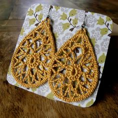 teardrop Lace Earrings