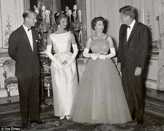 "theregalkingdom: "" Her Majesty and US Presidents/First Ladies mini spam With John F. & Jackie Kennedy """