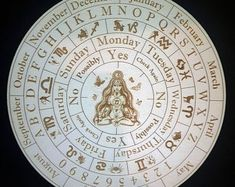 Discover recipes, home ideas, style inspiration and other ideas to try. Pendulum Board, Script Text, Artwork Display, Create Words, Ouija, Thing 1, Magick, Wiccan Spells, Magic Spells