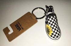 Sunflower Custom Painted Vans Keychain Cute Gift Source by etsy ideas with vans Cool Keychains, Cute Keychain, Vintage Jeep, Custom Vans, Custom Shoes, Painted Vans, Cute Car Accessories, Mini Things, Cute Cars